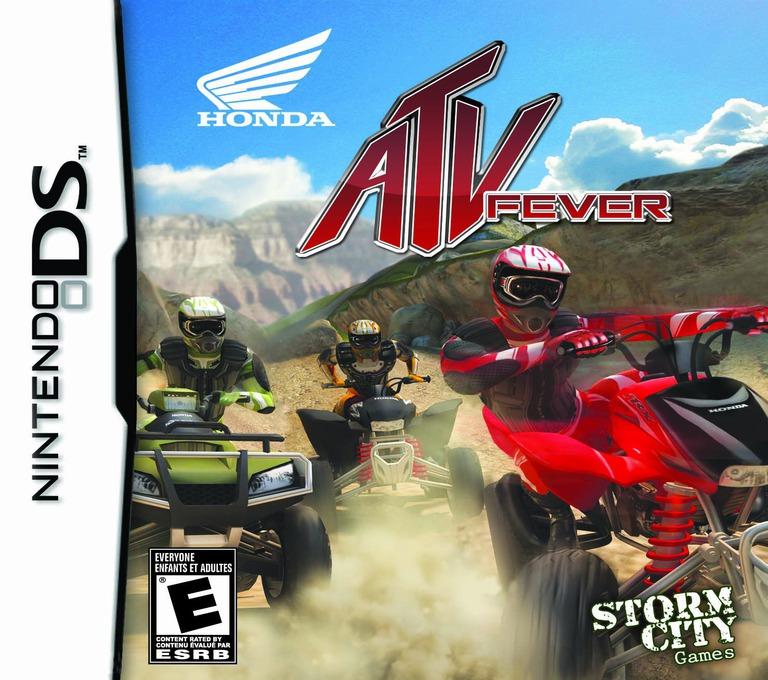 Honda ATV Fever DS coverHQ (BRQE)