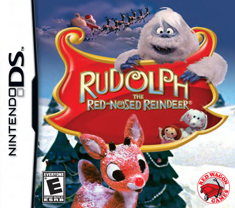 Rudolph - The Red-Nosed Reindeer DS coverHQ (BRUE)
