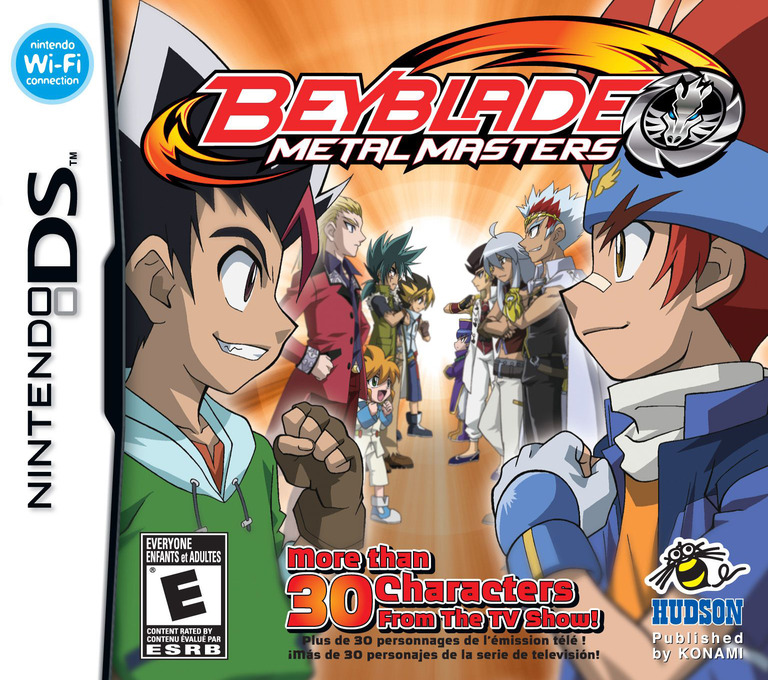 Beyblade - Metal Masters DS coverHQ (BRZE)