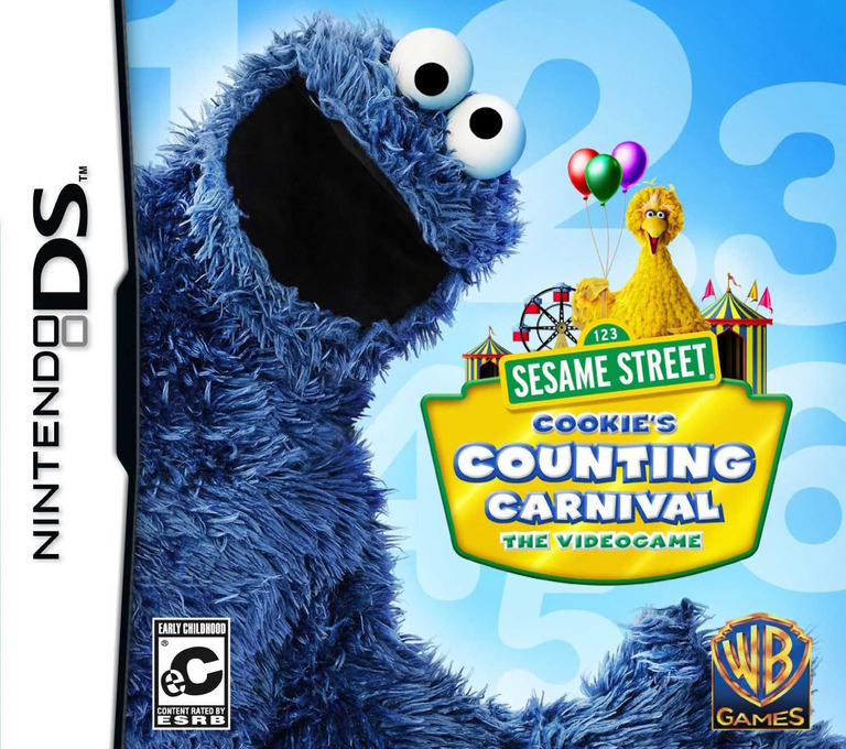 Sesame Street - Cookie's Counting Carnival - The Videogame DS coverHQ (BSRE)