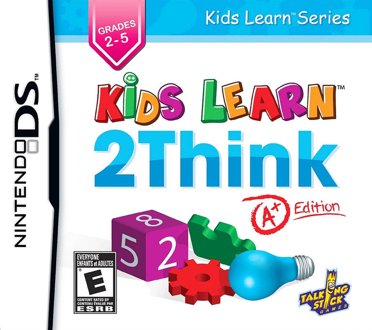 Kids Learn - 2Think - A+ Edition DS coverHQ (BTHE)