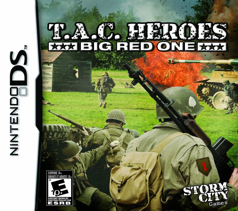 T.A.C. Heroes - Big Red One DS coverHQ (BTJE)