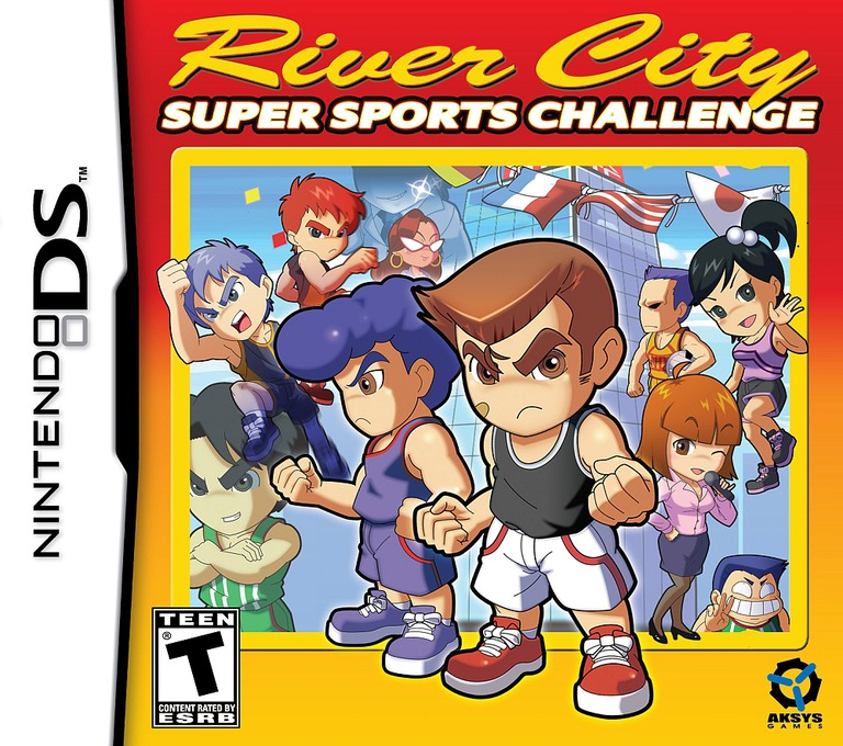 River City - Super Sports Challenge DS coverHQ (BUDE)
