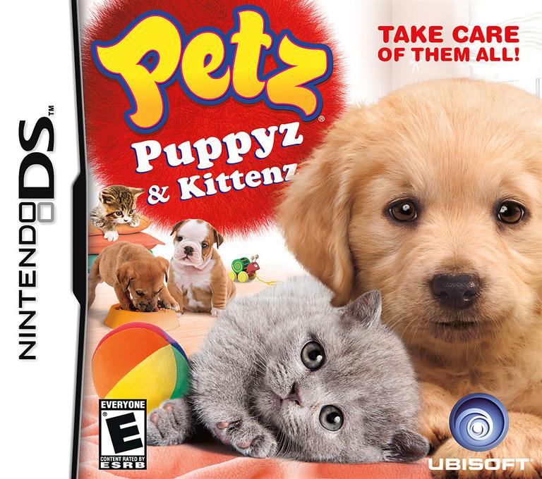 Petz - Puppyz & Kittenz DS coverHQ (BUFE)