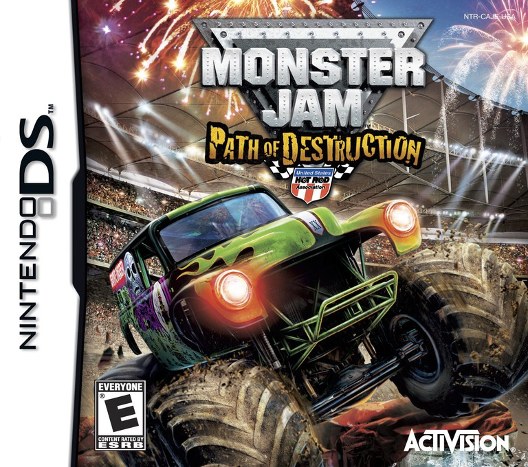 Monster Jam - Path of Destruction DS coverHQ (BUJE)