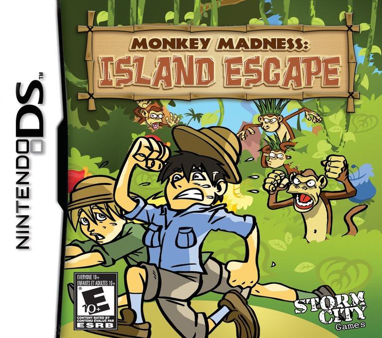 Monkey Madness - Island Escape DS coverHQ (BVDE)