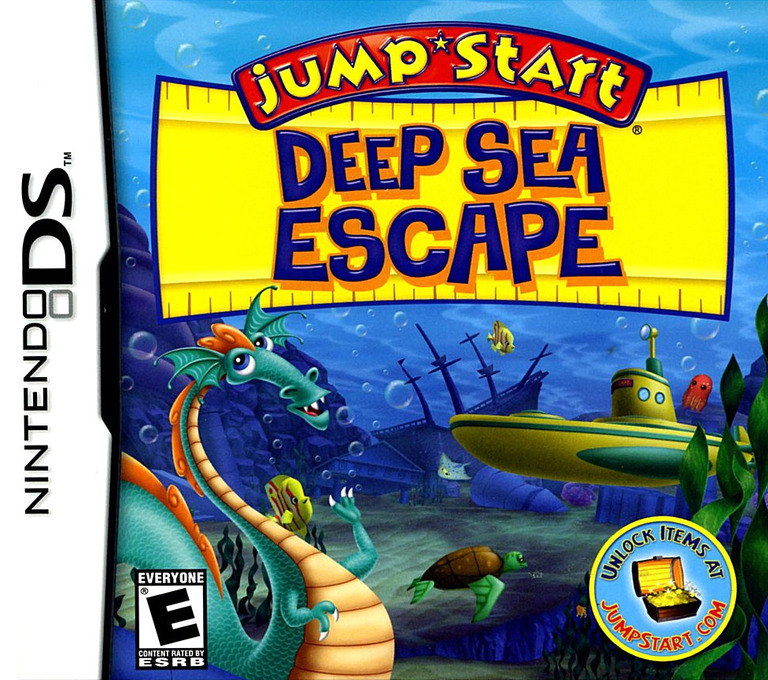 JumpStart - Deep Sea Escape DS coverHQ (BVJE)