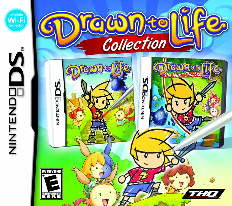 Drawn to Life - Collection DS coverHQ (BVPE)