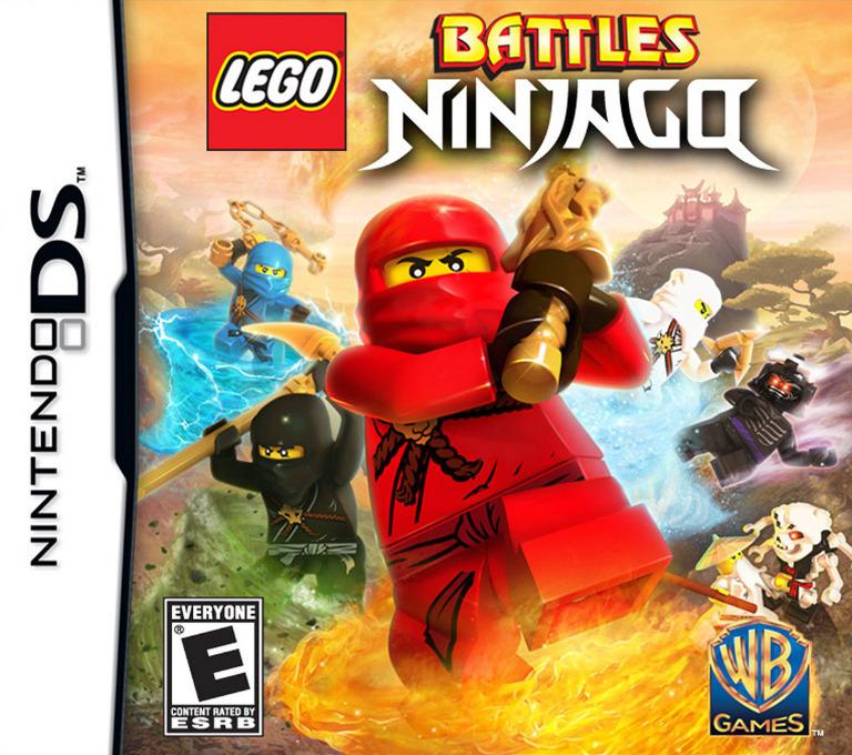 LEGO Battles - Ninjago DS coverHQ (BVYE)
