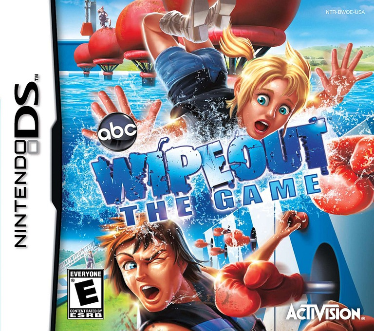 Wipeout - The Game DS coverHQ (BWOE)