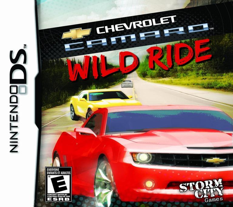 Chevrolet Camaro - Wild Ride DS coverHQ (BWQE)