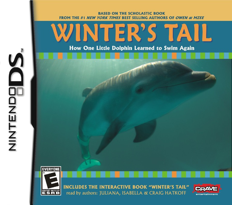 Winter's Tail - How One Little Dolphin Learned to Swim Again DS coverHQ (BWUE)