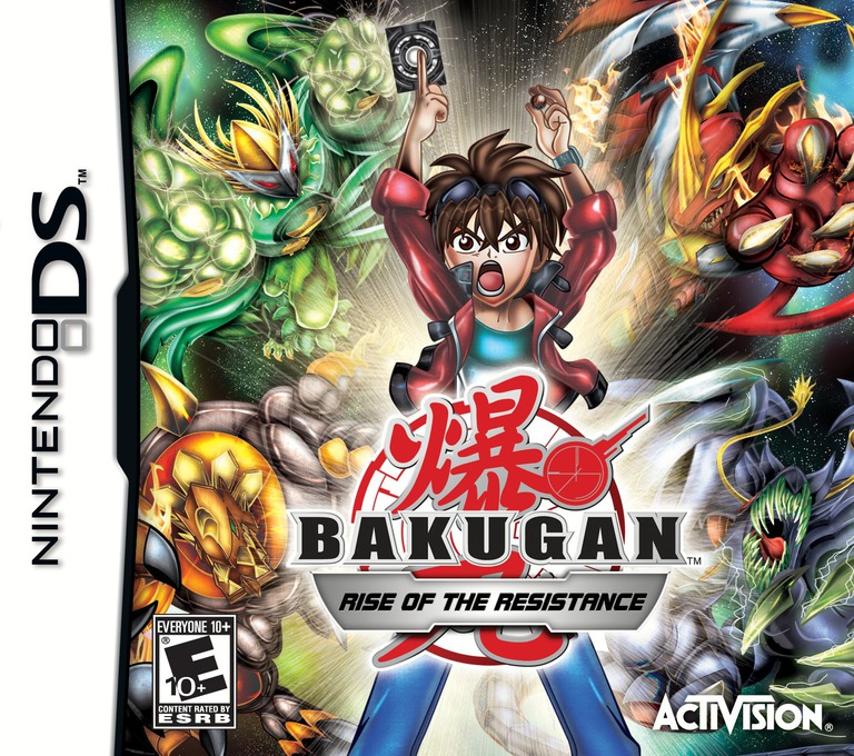 Bakugan - Rise of the Resistance DS coverHQ (BXVE)
