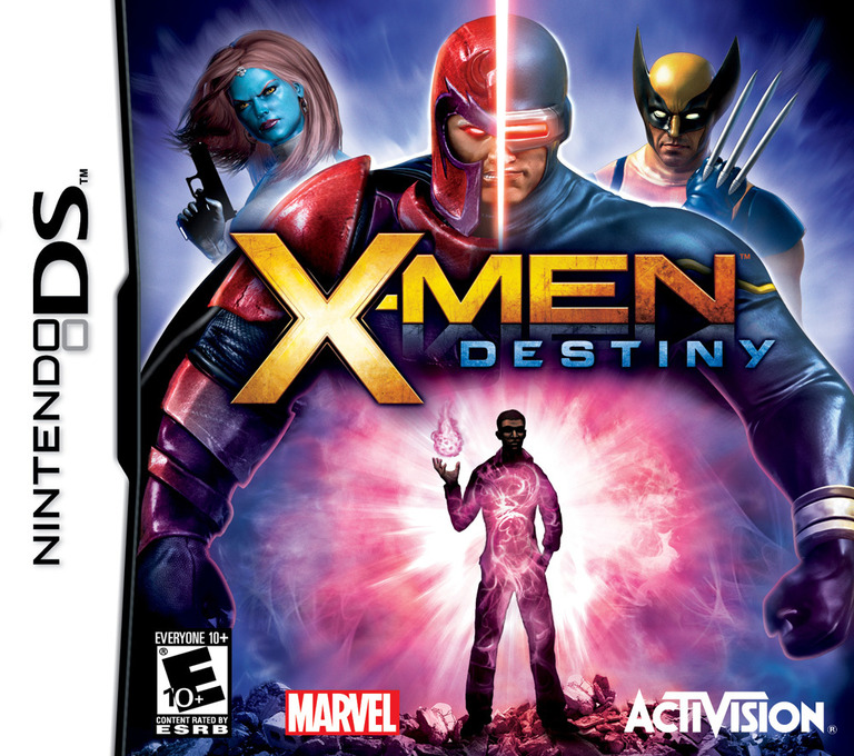 X-Men - Destiny DS coverHQ (BXYE)