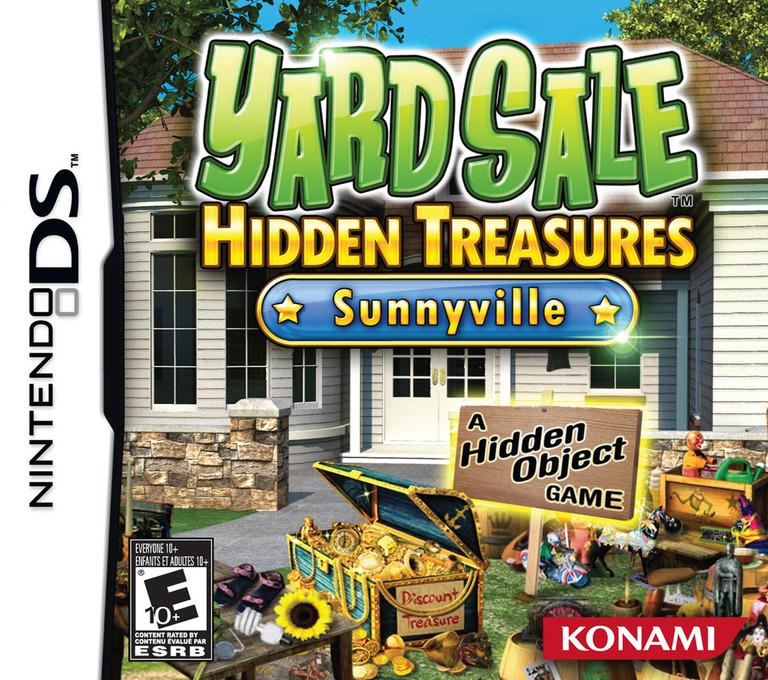 Yard Sale Hidden Treasures - Sunnyville DS coverHQ (BYHE)