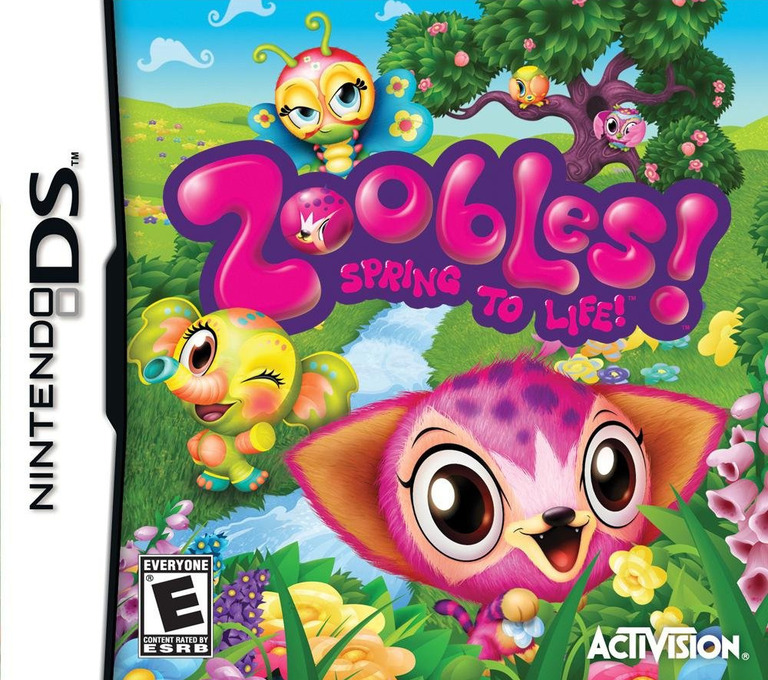 Zoobles! Spring to Life! DS coverHQ (BZ6E)