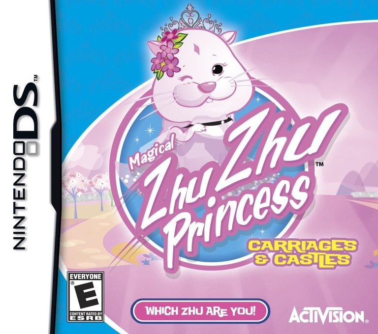 Magical Zhu Zhu Princess - Carriages and Castles DS coverHQ (BZHE)