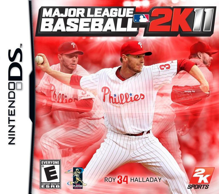 Major League Baseball 2K11 DS coverHQ (BZVE)