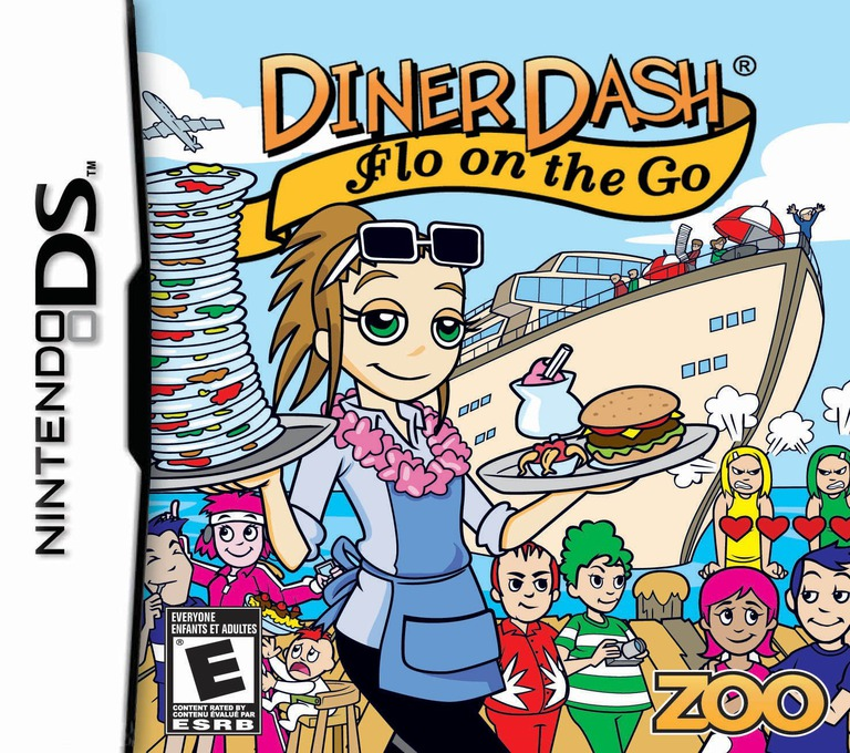 Diner Dash - Flo on the Go DS coverHQ (C2NE)