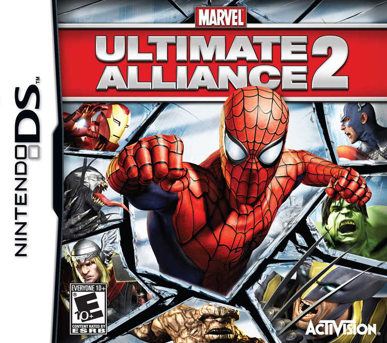 Marvel - Ultimate Alliance 2 DS coverHQ (C4ME)