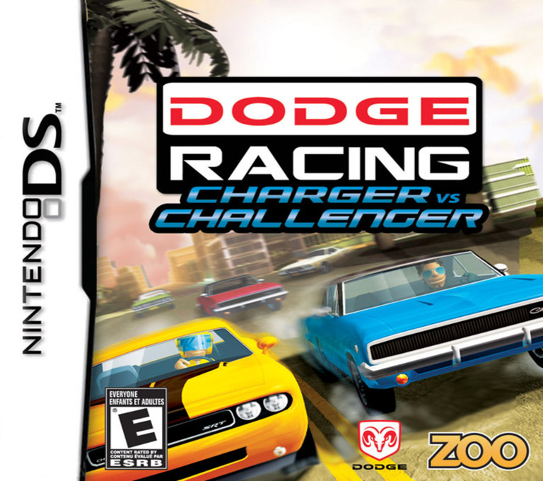 Dodge Racing - Charger vs Challenger DS coverHQ (C5ME)
