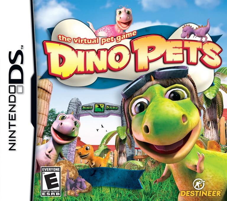 Dino Pets - The Virtual Pet Game DS coverHQ (C5NE)