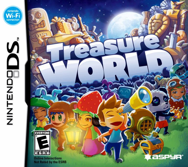 Treasure World DS coverHQ (C5TE)