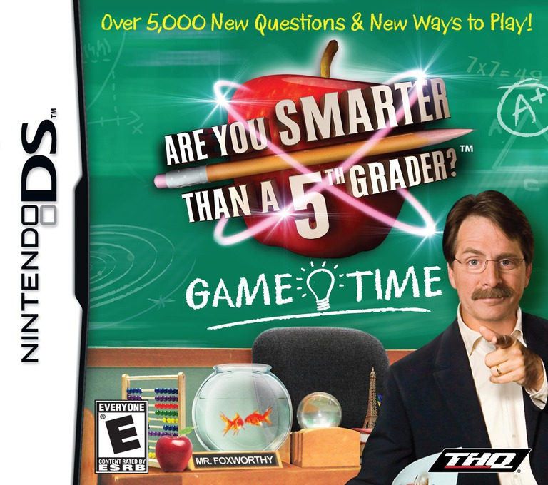 Are You Smarter than a 5th Grader - Game Time DS coverHQ (C5UE)