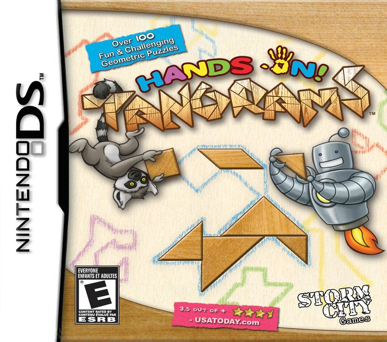 Hands On! Tangrams DS coverHQ (C67E)