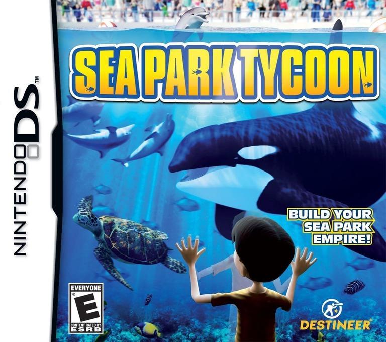 Sea Park Tycoon DS coverHQ (C6TE)