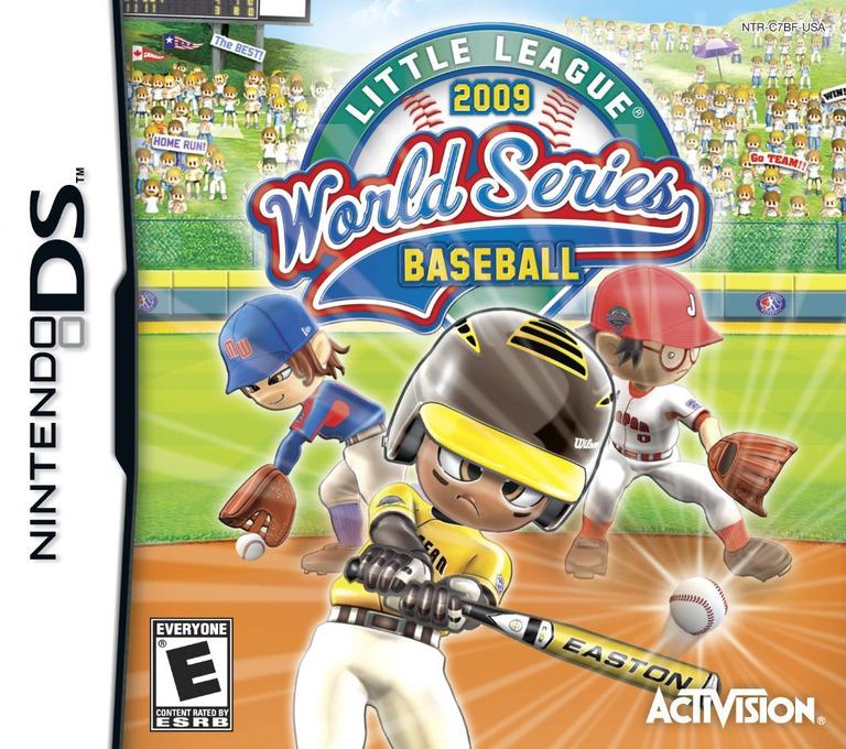 Little League World Series Baseball 2009 DS coverHQ (C7BE)
