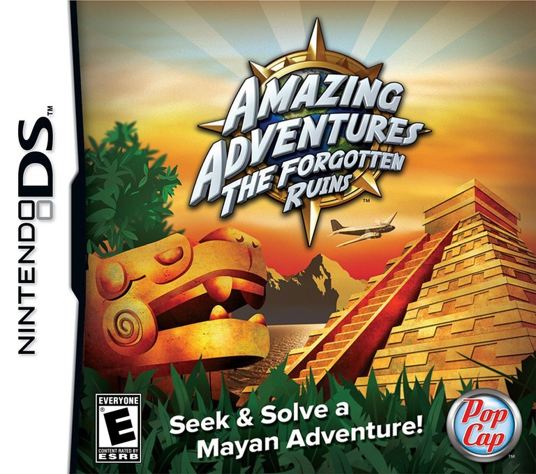 Amazing Adventures - The Forgotten Ruins DS coverHQ (CA7E)