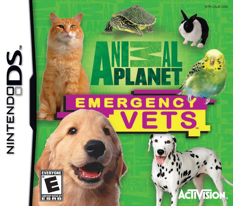 Animal Planet - Emergency Vets DS coverHQ (CAJE)