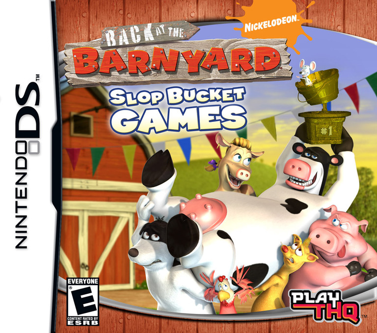 Back at the Barnyard - Slop Bucket Games DS coverHQ (CB8E)