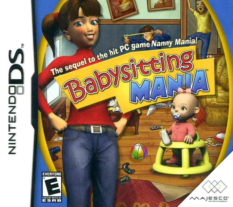 Babysitting Mania DS coverHQ (CBYE)
