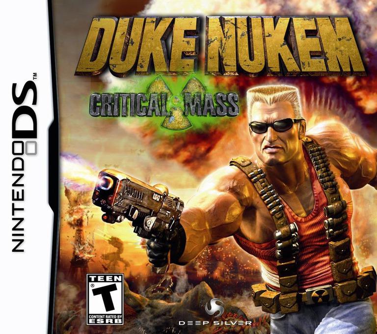 Duke Nukem - Critical Mass DS coverHQ (CDNE)