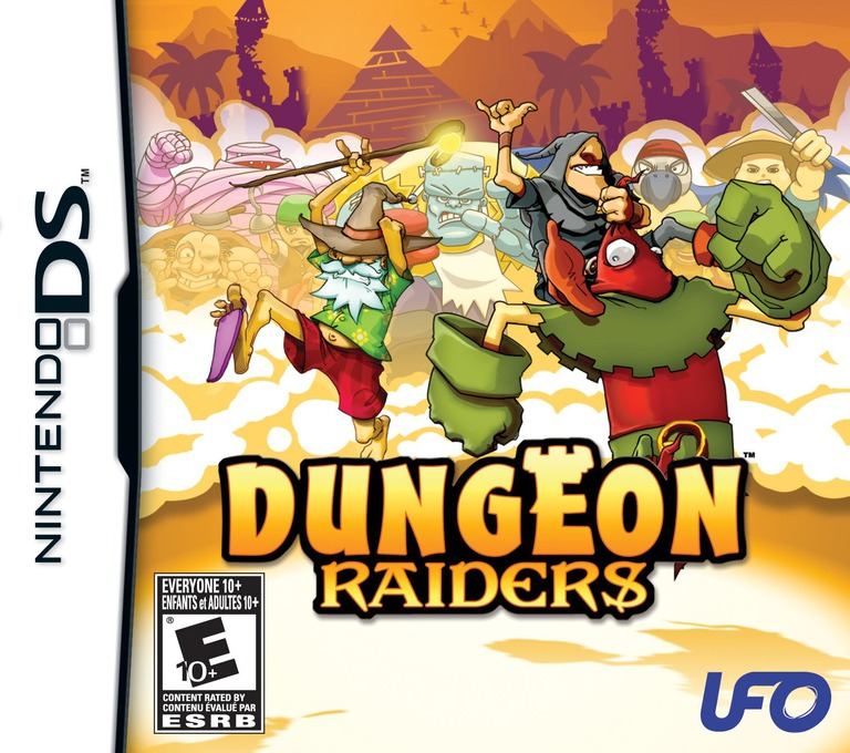 Dungeon Raiders DS coverHQ (CDVE)