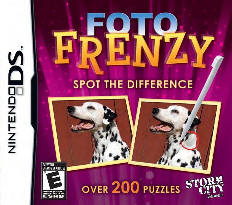Foto Frenzy - Spot the Difference DS coverHQ (CF2E)