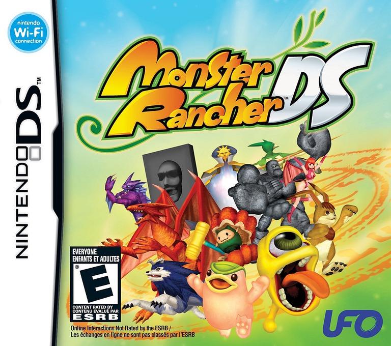 Monster Rancher DS DS coverHQ (CFME)