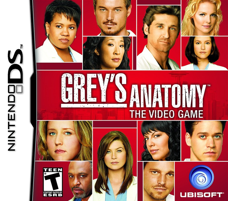 Grey's Anatomy - The Video Game DS coverHQ (CG5E)