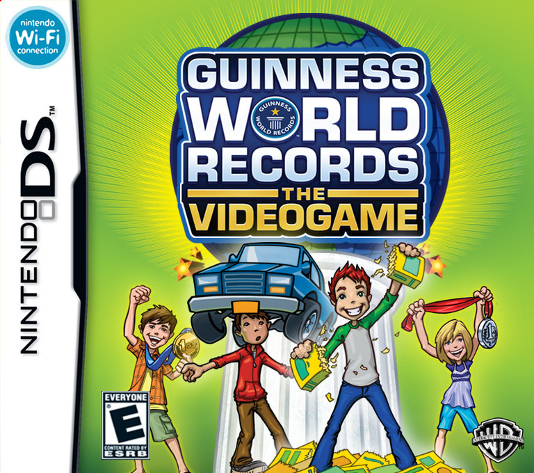 Guinness World Records - The Videogame DS coverHQ (CGNE)