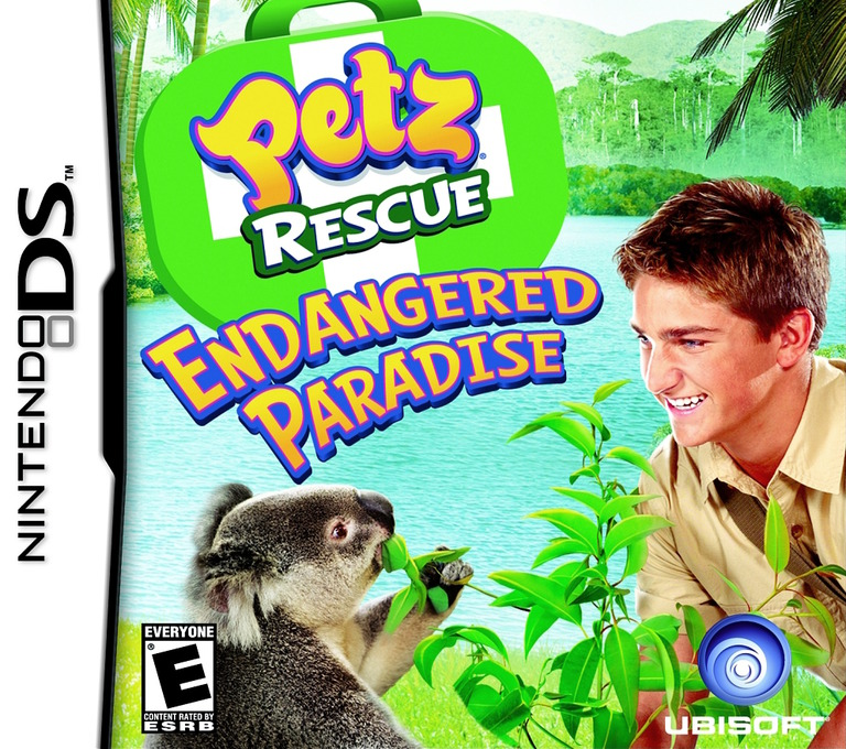 Petz Rescue - Endangered Paradise DS coverHQ (CGQE)