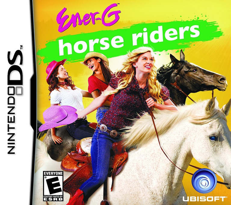 Ener-G - Horse Riders DS coverHQ (CH4E)