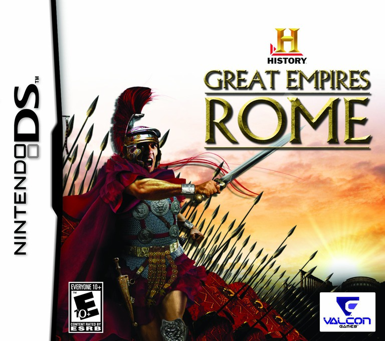 History - Great Empires - Rome DS coverHQ (CHXE)