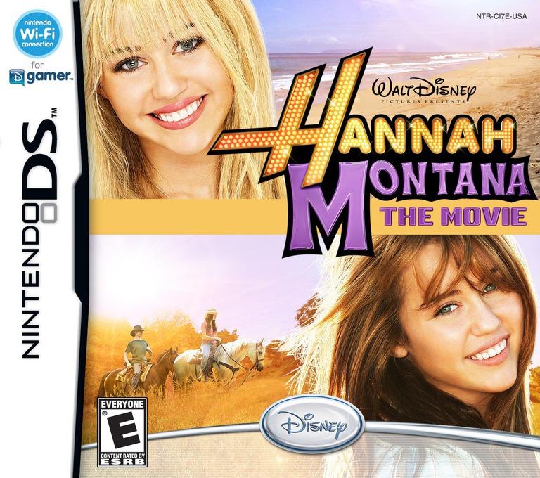 Hannah Montana - The Movie DS coverHQ (CI7E)