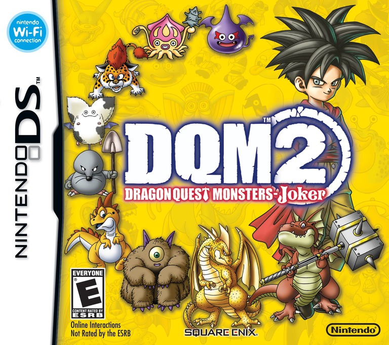 Dragon Quest Monsters - Joker 2 DS coverHQ (CJRE)