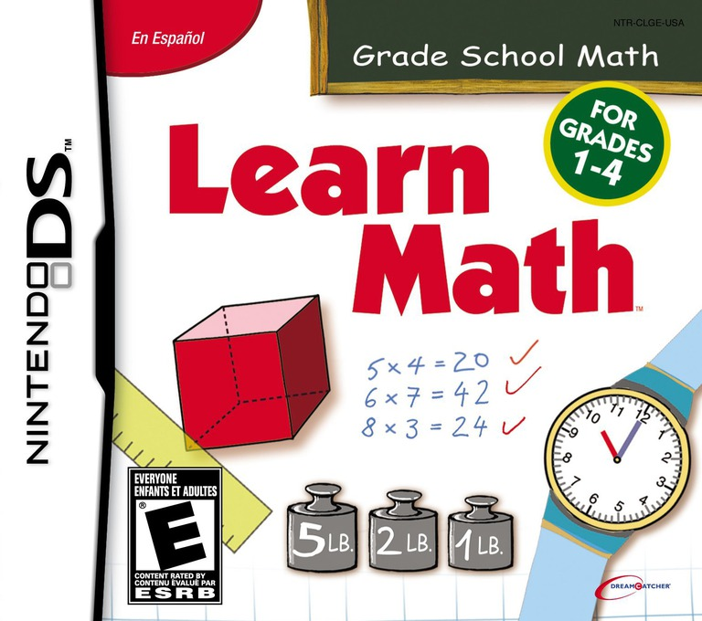 Learn Math DS coverHQ (CLGE)