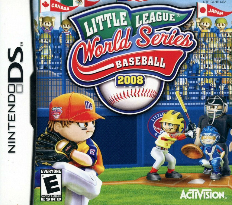 Little League World Series Baseball 2008 DS coverHQ (CLHE)