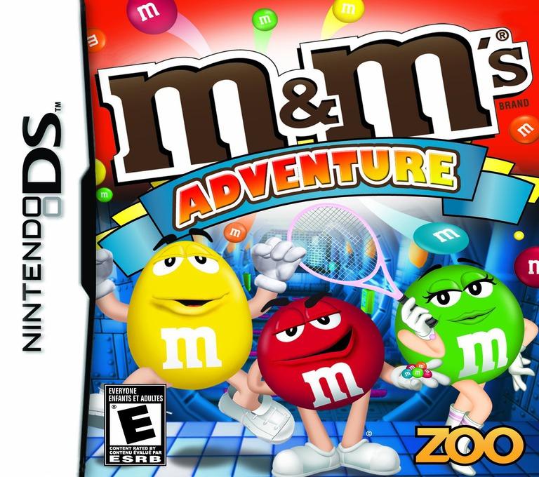 M&M's - Adventure DS coverHQ (CMXE)