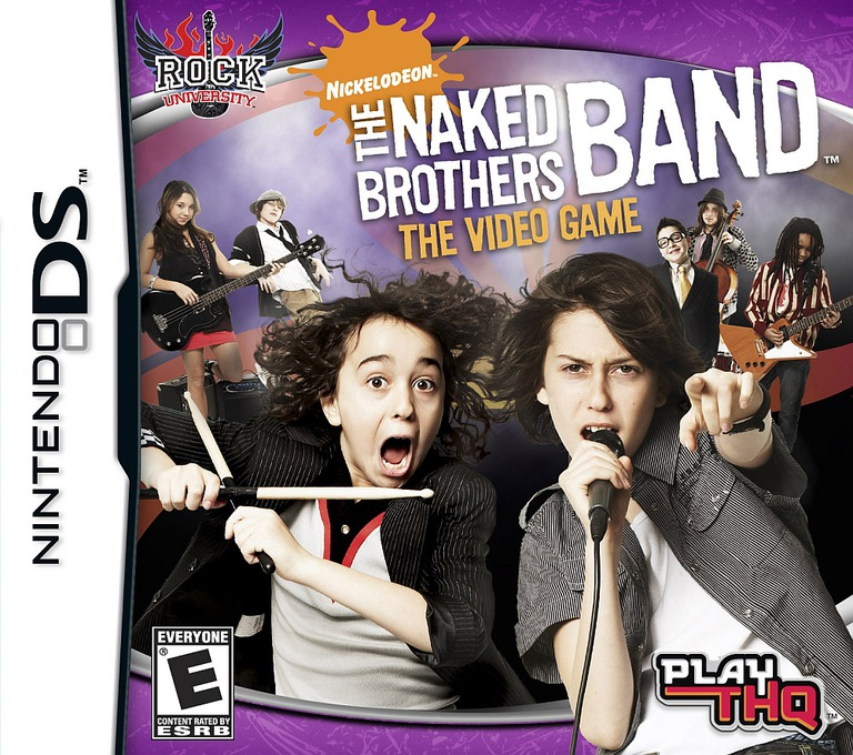 The Naked Brothers Band - The Video Game DS coverHQ (CNBE)